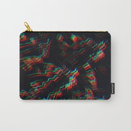 TRIPPY COLORFUL WATER RIPPLES Carry-All Pouch