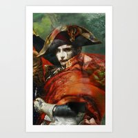 napoleon Art Prints featuring Napoleon by hyperionnebulae