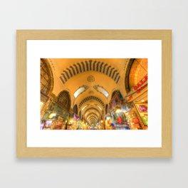 The Spice Bazaar Istanbul Framed Art Print