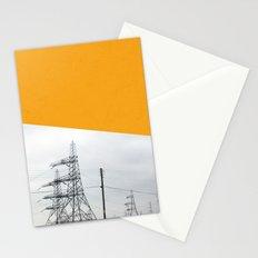 Orange Pylons Stationery Cards