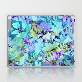 Sky Blue Poppies Laptop & iPad Skin