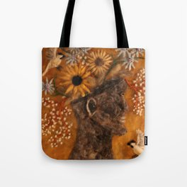 The Face Vase Tote Bag