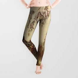 Beauty Had A Brave Heart By Edmund Dulac Leggings