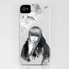 Swan Love Slim Case iPhone (4, 4s)