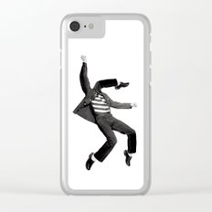 Rock 'n' Roll Clear iPhone Case