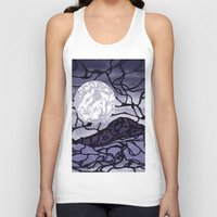 cracked Tank Tops featuring Cracked by Mel Moongazer