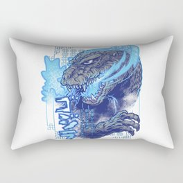 Atomic Fire Born! Rectangular Pillow
