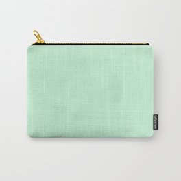 Sea Green Watercolor Carry-All Pouch