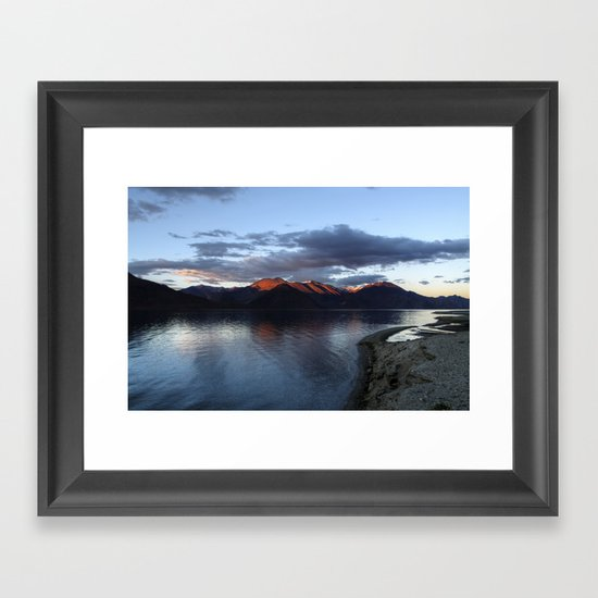...at the end of the day! Framed Art Print