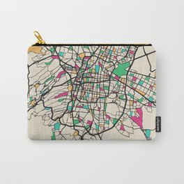 Colorful City Maps: Mexico City Carry-All Pouch