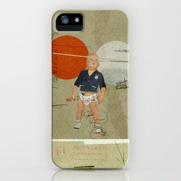 Jukebox Hero | Collage iPhone Case