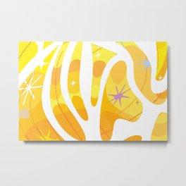 Mojave Sun Metal Print