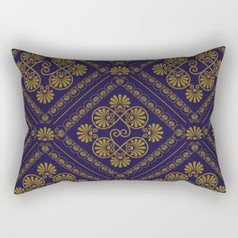 seamless pattern in eastern style Rectangular Pillow