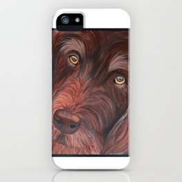 A Pup Named Ragnar iPhone Case