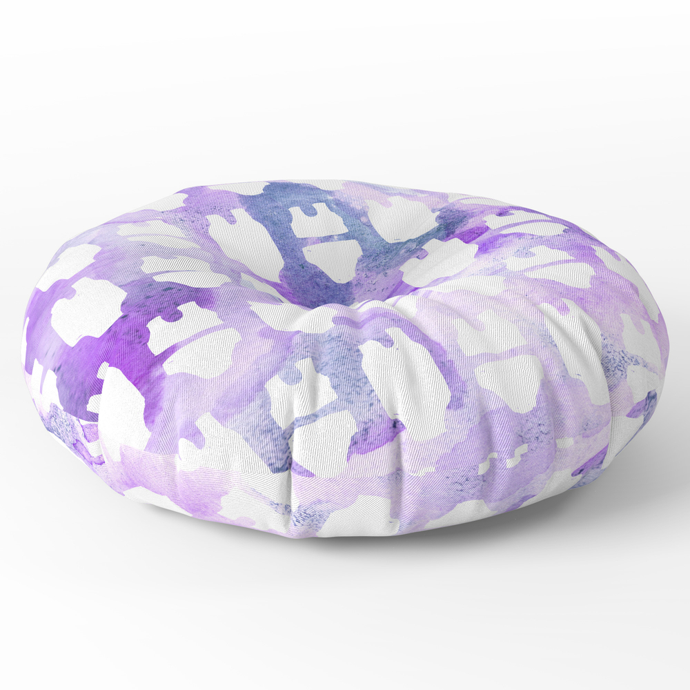 "Purple_Summer_Bod_-_Bikini_Bathing_Suit_Watercolor_Pattern_Inverted_Round_Floor_Pillow_-_x_26""_by_nightowldigital"