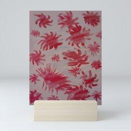 red sea creatures Mini Art Print