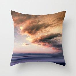Pastel Waters #ocean Throw Pillow