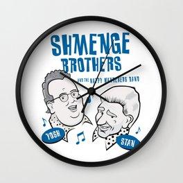 Shmenge Brothers Wall Clock