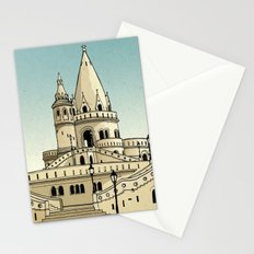 Fisherman's Bastion - Budapest - Hungary Stationery Cards