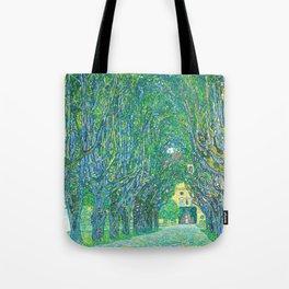 Gustav Klimt - Allee im Park von Schloss Kammer (new editing) Tote Bag