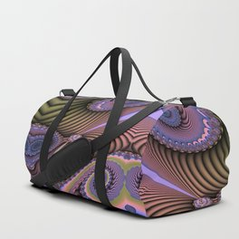 The feel of movement, digital abstract Duffle Bag