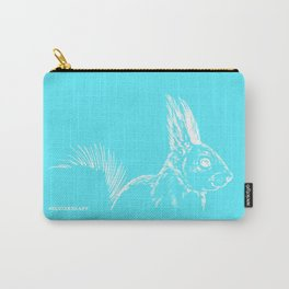 Retro Squirrel 3 Carry-All Pouch