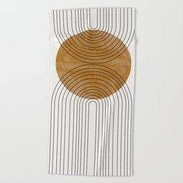 Abstract Flow Beach Towel