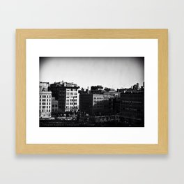 Tribeca Window by Igh Kihl Media/Piffington Kushfield Photography Framed Art Print