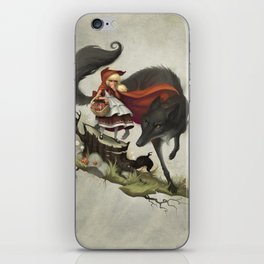 """""""Unto an evil counsellor, close heart and ear and eye..."""" iPhone Skin"""