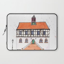 Timber-Framed House from Germany Laptop Sleeve