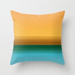 Quiet (landscape) Throw Pillow