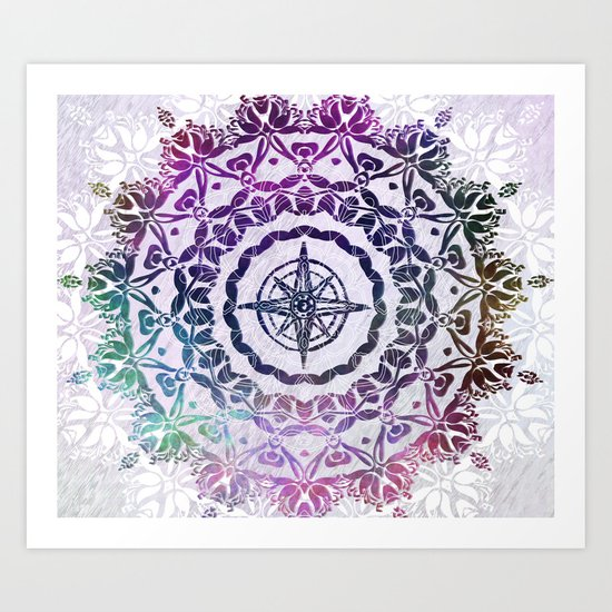 Destination Mandala Art Print