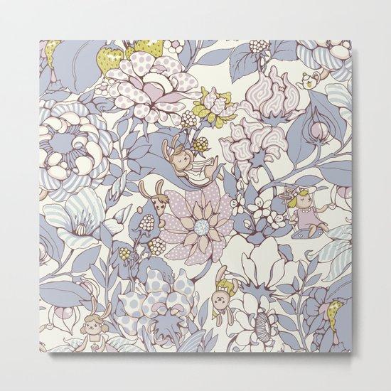 Garden party - jasmine tea version Metal Print