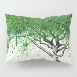 Green Breeze Tree Pillow Sham