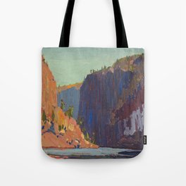 Tom Thomson Petawawa Gorges Canadian Landscape Artist Tote Bag