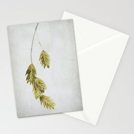 simple sea  oats Stationery Cards