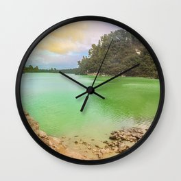 Beautiful but Deadly Wall Clock