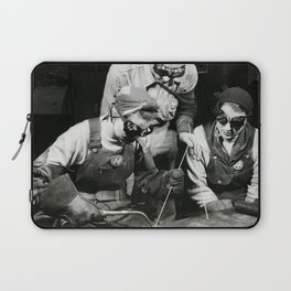 Female Welders - WW2 Homefront - 1943 Laptop Sleeve