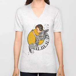 The Conductor Unisex V-Neck
