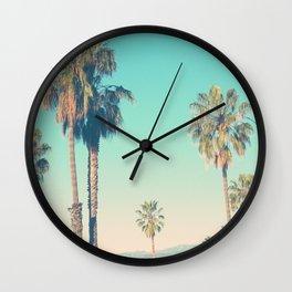 California Morning Wall Clock