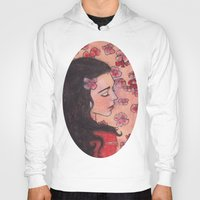 snow white Hoodies featuring Snow White by Sarah Larguier
