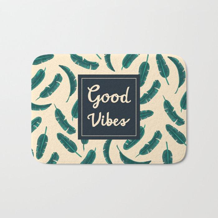 Good Vibes Zone Bath Mat
