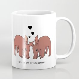 Flirty Aardvarks Coffee Mug