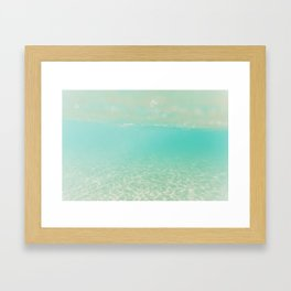 Clear day Framed Art Print