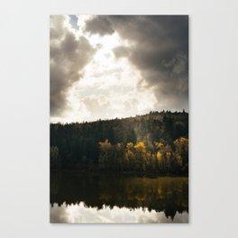 River // Autumn Canvas Print