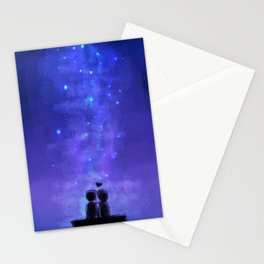 In the stars Stationery Cards