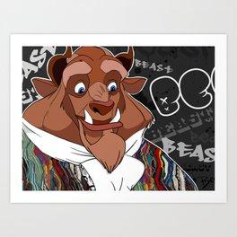 The Coogi Beast Art Print