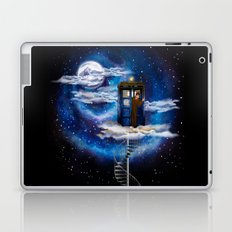 Live on the cloud in the BOX Doctor who iPhone 4 4s 5 5c 6 7, pillow case, mugs and tshirt Laptop & iPad Skin