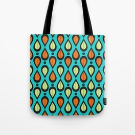 Dance With Me Mid-Century Modern Design Tote Bag