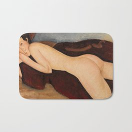 Amedeo Modigliani - Reclining Nude from the Back Bath Mat